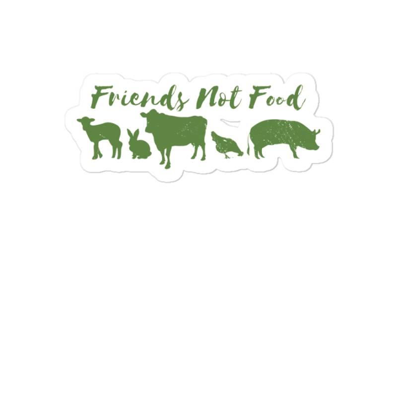 Animal Friends Vegan Sticker | Artistshot