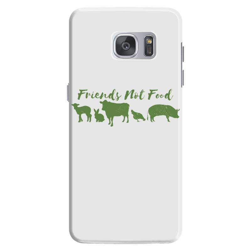 Animal Friends Vegan Samsung Galaxy S7 Case | Artistshot