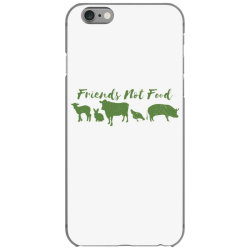 animal friends vegan iPhone 6/6s Case | Artistshot
