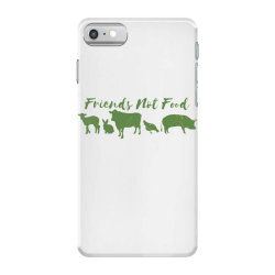 animal friends vegan iPhone 7 Case | Artistshot