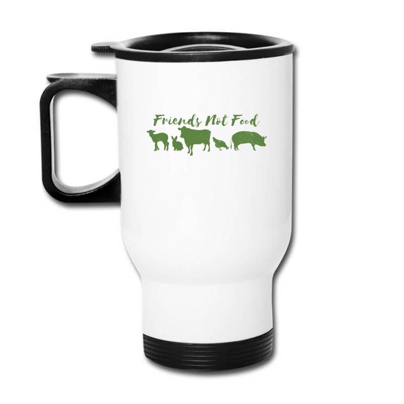 Animal Friends Vegan Travel Mug | Artistshot
