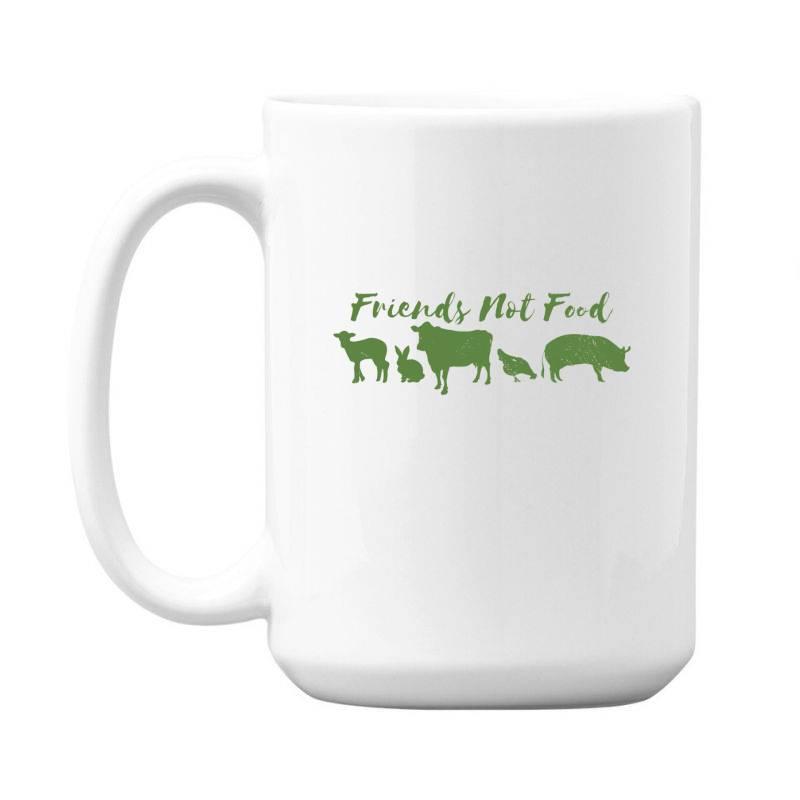 Animal Friends Vegan 15 Oz Coffe Mug | Artistshot