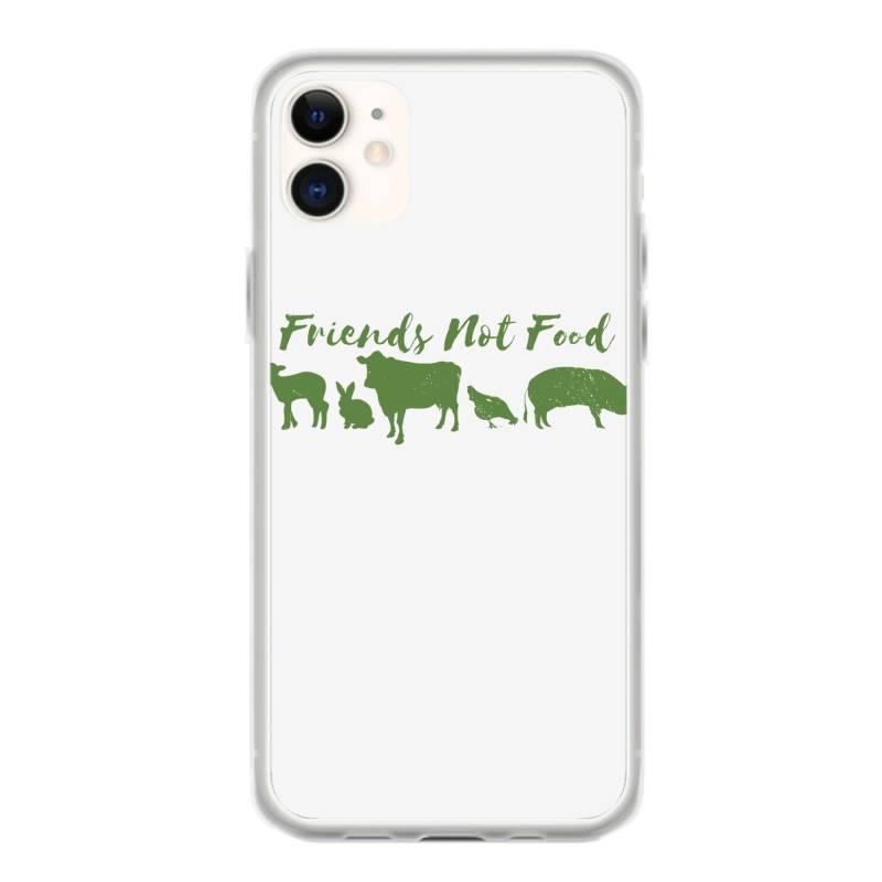 Animal Friends Vegan Iphone 11 Case   Artistshot