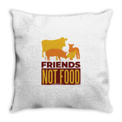 animal friends Throw Pillow | Artistshot