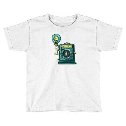 Antique Camera Toddler T-shirt Designed By Dirjaart