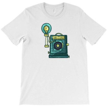 Antique Camera T-shirt Designed By Dirjaart