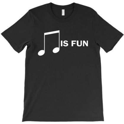 Music Is Fun T-shirt Designed By Ewanhunt