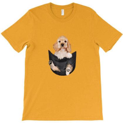 Cocker T-shirt Designed By Asatya