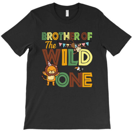 Brother Of The Wild One T-shirt Designed By Sengul