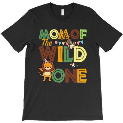 Mom Of The Wild One T-shirt Designed By Sengul