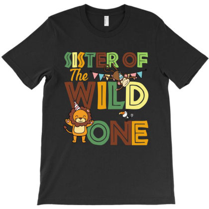 Sister Of The Wild One T-shirt Designed By Sengul