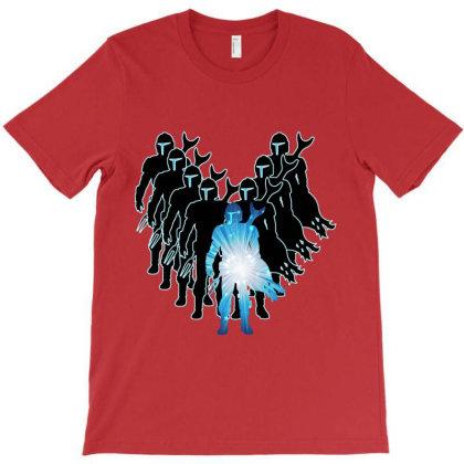 Mando Shadow T-shirt Designed By Fashionfree