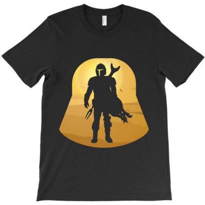 Mando Retro T-shirt Designed By Fashionfree