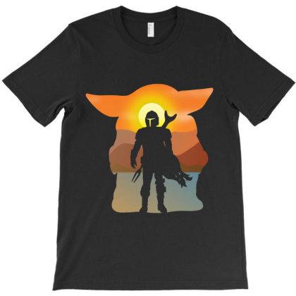 Mando And Child T-shirt Designed By Fashionfree