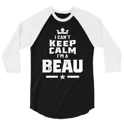 Beau Personalized Name Birthday Gift 3/4 Sleeve Shirt Designed By Cidolopez