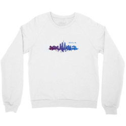 berlin watercolor skyline Crewneck Sweatshirt | Artistshot