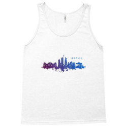 berlin watercolor skyline Tank Top | Artistshot