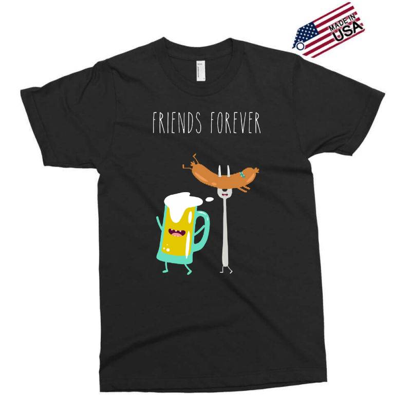 Funny Beer With Sausage Exclusive T-shirt | Artistshot