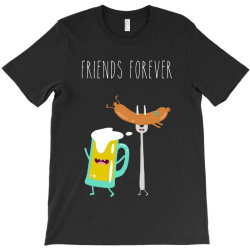 funny beer with sausage T-Shirt | Artistshot