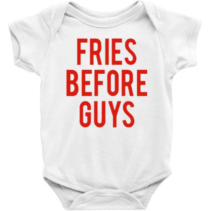 Fries Before Guys Baby Bodysuit Designed By Green Giant