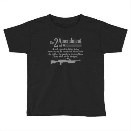 Amendment Toddler T-shirt Designed By H3lm1