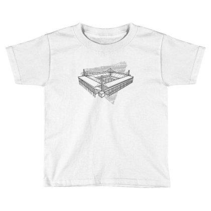 Cologne Stadium Toddler T-shirt Designed By Dirjaart