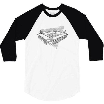 Cologne Stadium 3/4 Sleeve Shirt Designed By Dirjaart