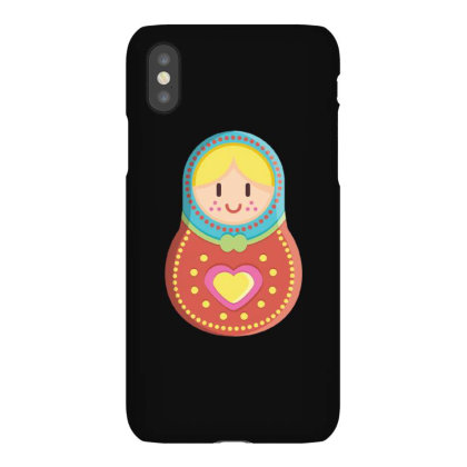 Cute Matryoshka Russian Doll Colorful Iphonex Case Designed By Dirjaart