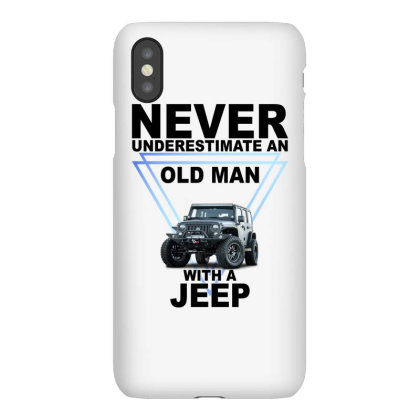 Never Underestimate An Old Man With A Jeep For Light Iphonex Case Designed By Gurkan