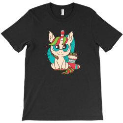cute xmas unicorn T-Shirt | Artistshot