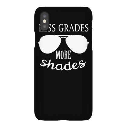 Less Grades More Shades Iphonex Case Designed By Satrio Art