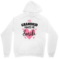 my grandkıd makes me smile for light Unisex Hoodie   Artistshot
