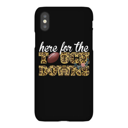 Here For The Touchdowns Football For Dark Iphonex Case Designed By Gurkan