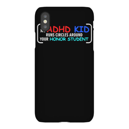 Kid Runs Circles Around Your Honor Student Iphonex Case Designed By Satrio Art