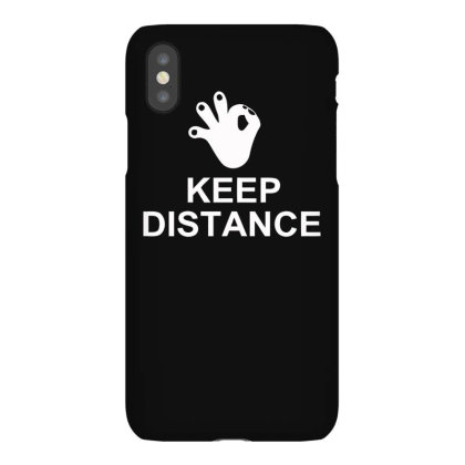 Keep The Distance Iphonex Case Designed By Satrio Art