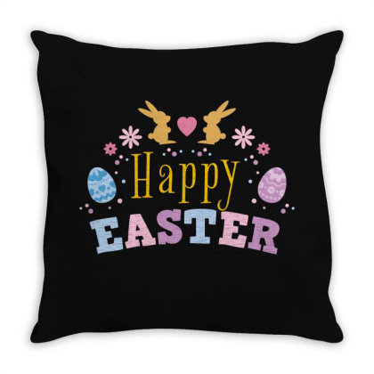 Easter Day Throw Pillow Designed By Estore