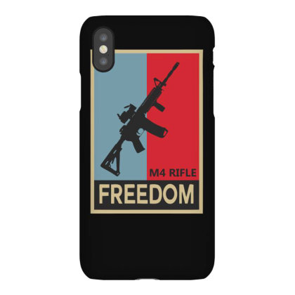 Infantry M4 Rifle Freedom Carbine Iphonex Case Designed By Satrio Art