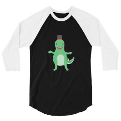 funny smiling all out 3/4 Sleeve Shirt   Artistshot