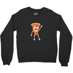 funny smiling cheesy pepperoni pizza Crewneck Sweatshirt | Artistshot