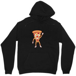 funny smiling cheesy pepperoni pizza Unisex Hoodie | Artistshot