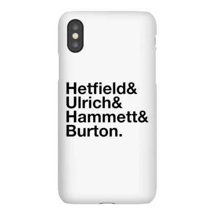 Metallica   Original Line Up Iphonex Case Designed By Green Giant