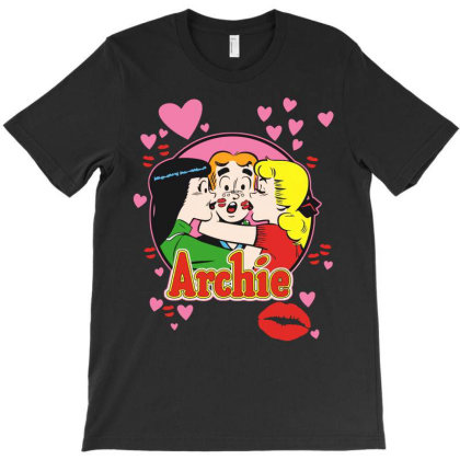 Kisses For Archie T-shirt Designed By Green Giant