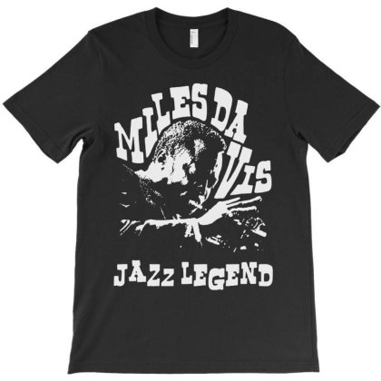Jazz Legend T-shirt Designed By Green Giant