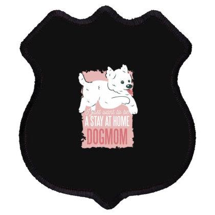 Dogmom Shield Patch Designed By Dirjaart