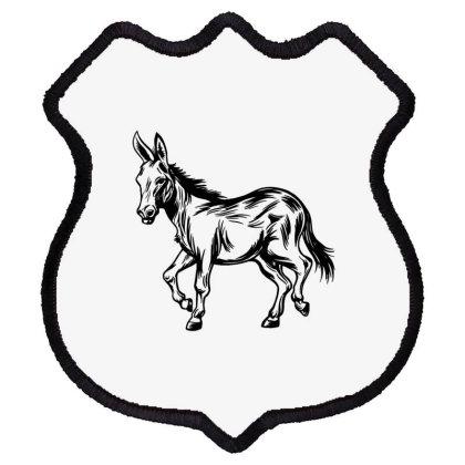 Donkey Shield Patch Designed By Dirjaart