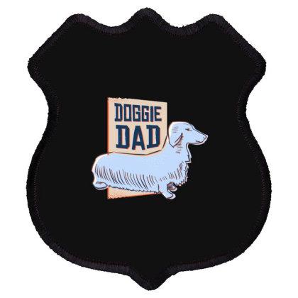 Doggie Dad Shield Patch Designed By Dirjaart