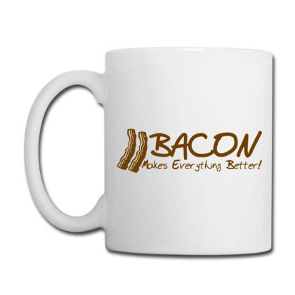 Bacon Makes Evertything Better Coffee Mug Designed By H3lm1