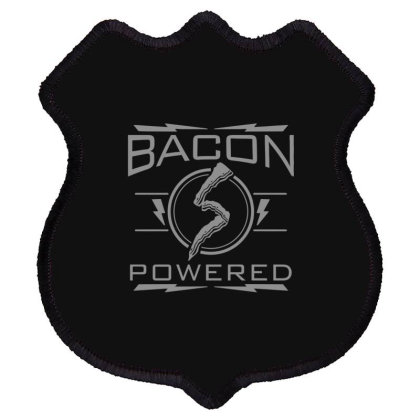 Bacon Powered Shield Patch Designed By H3lm1