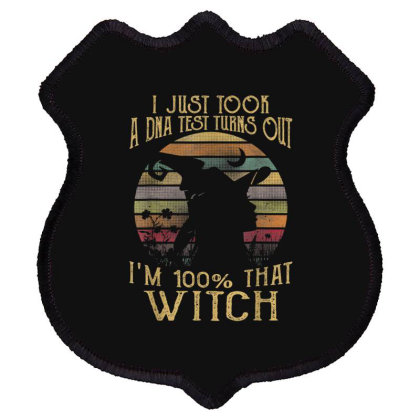 Just Took A Dna Test Turns Out I'm 100 Percent That Witch Shield Patch Designed By Mrt90