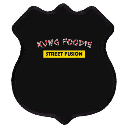Kung Foodie Street Fusion Asian Chinese Food Shield Patch Designed By Mrt90